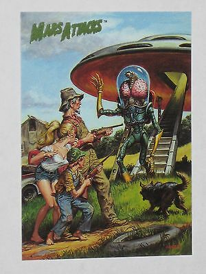 Topps Mars Attacks Trading Card 1994 Base Card NM #72 Flip Cover For Issue #1