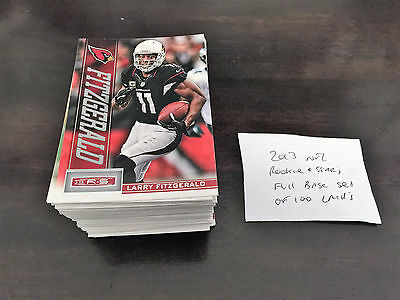 2013 NFL Rookie and Stars Base Set of 100 cards