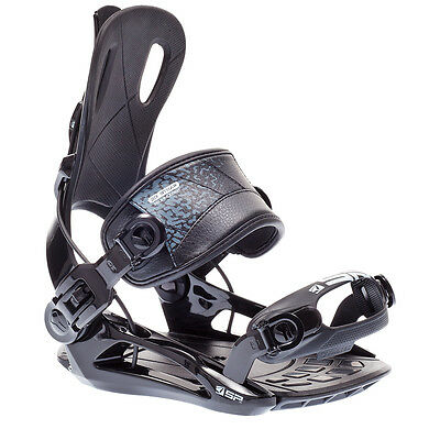 SP FT270 Rear Entry Fastec Snowboard Bindings Black Step In Mens Womens S M L