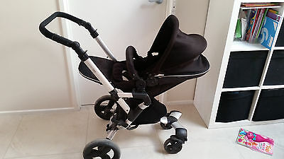 Concord Neo Baby Pram/buggy WITH infant carrier AND spare wheel set.