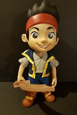 """13"""" Talking Jake from Disney JR. Jake and the Neverland Pirates with sword"""