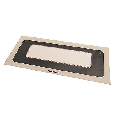 Genuine Hotpoint Top Oven Outer Door Glass