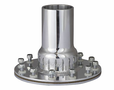 Proflow FCA005P Straight Fuel Cell Filler Neck 2' Polished