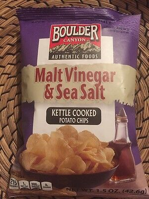 Boulder Canyon Authentic Foods Kettle Cooked Potato Chips Sea Salt & Cracked 1.5