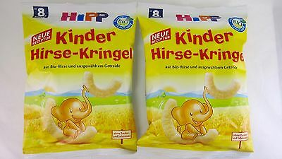 HiPP Organic teething MILLET CURLS for babies - 2 PACK - Made in Germany -