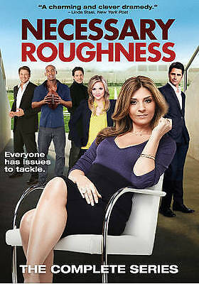 Necessary Roughness: The Complete Series (DVD, 2016, 6-Disc Set)