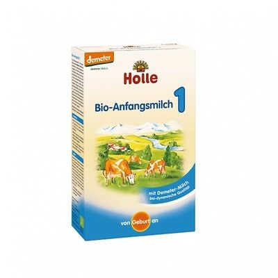 Holle Stage 1 Organic Baby Formula, 0-6 months, 400g