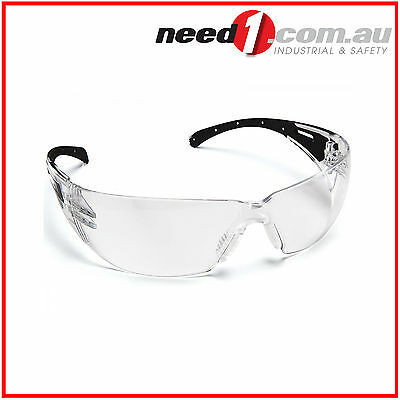 6 X Force360 Eclipse Clear Lens Safety Spectacle Glasses
