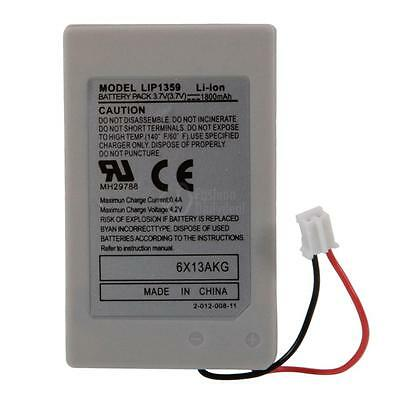 Hot 1800mAH Rechargeable Battery Wireless Controller for Playstation 3 PS3 UK