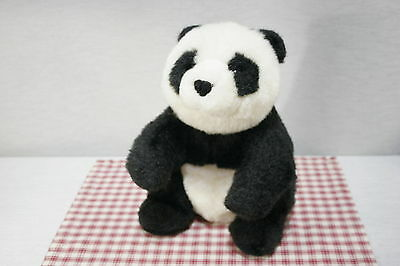 """GUND 1985 Collectors Classic Bamboo Panda Bear Limited Edition 12"""" Seated (H2)"""