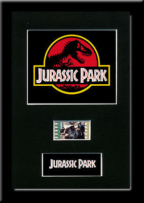 Jurassic Park Framed 35mm Mounted Film cells - filmcell movie