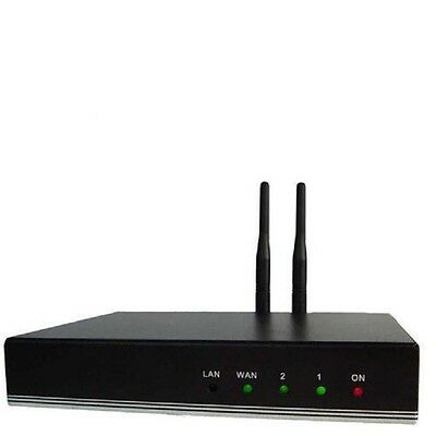 GSM 3G 4G VoIP SIP Bluetooth Gateway 2 Line Channel for Asterisk, 3CX, IP PBX