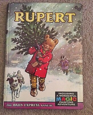Rupert Annual 1965 - Unclipped - Daily Express - Bestall