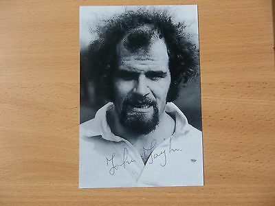 John Taylor, British & Irish Lion Rugby Player, Signed 6 X 4 Photo