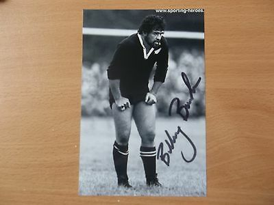 Billy Bush, New Zealand Rugby Player, Signed 6 X 4 Photo
