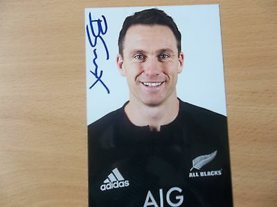 Ben Smith, New Zealand Rugby Player, Signed 6 X 4 Photo