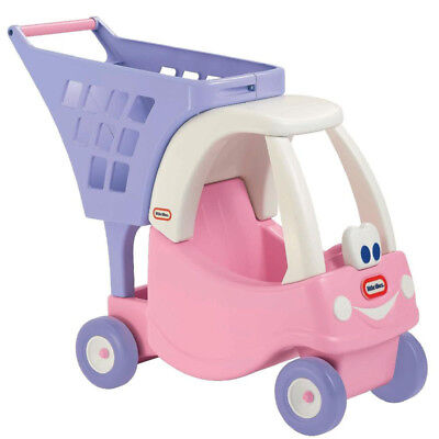 Little Tikes - Princess Cozy Coupe Shopping Cart Pink