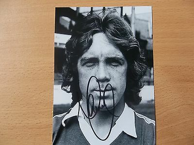 Mike Pejic, Ex Everton Footballer, Signed 6 X 4 Photo