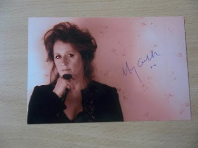 Mary Coughlan, Irish Singer, Signed 6 X 4 Photo