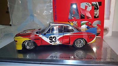 1/18 - Bmw 3.0Csl Calder Art Car Museum Edition Minichamps New