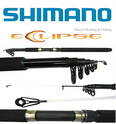 Shimano Eclipse Lumo Telescopic travel fishing Rods,5'6'', 6ft,  6'6''