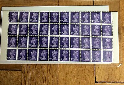 Sheet of 100 £1 Unused Stamps