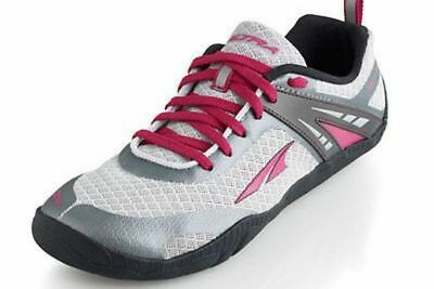 Altra Delilah Womens Shoes Silver/Magenta