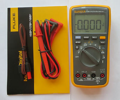 HIGH QUALITY ! FLUKE F17B+ 17B+ Digital Multimeter Meter Newest US Free Ship