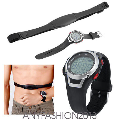 Pulse Sport Heart Rate Monitor Wireless Chest Strap Watch Fitness Belt Pulse