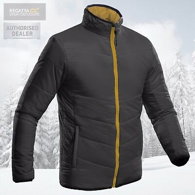 Regatta Mens Professional Waterproof Insulated Lightweight Jacket - Grey - New