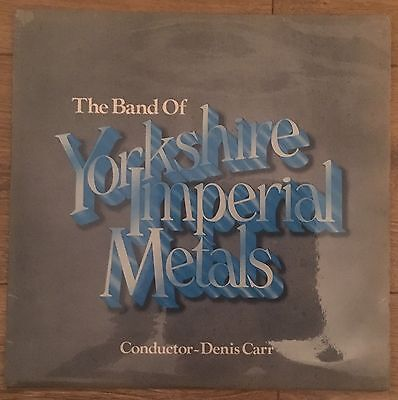 The Band Of Yorkshire Imperial Metals- Vinyl Record Album