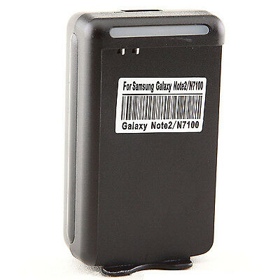 Wall Home AC Desktop Dock Battery Charger For Samsung Galaxy Note II 2 GT-N7100
