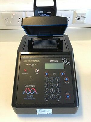 MJ Research PCR Thermal Cycler PTC-200 + 48/96/384 Well Block
