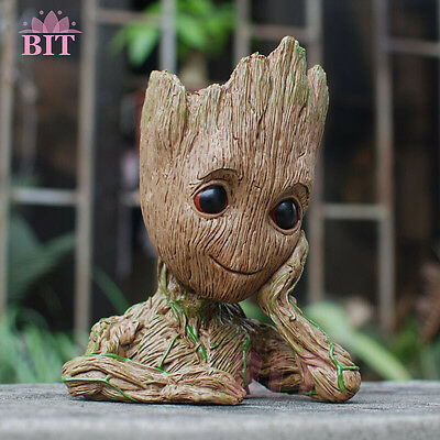"Movie Guardians of The Galaxy Vol. 2 Baby Groot 6"" Action Figure Flowerpot Toy"