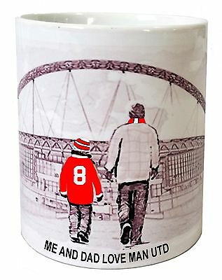 Manchester United Mug Football shirt Fathers Day Xmas New Gift