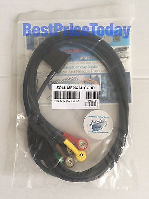 Zoll ECG 6 Leads V Patient Cable for 12 lead For ZOLL E M Series Removable NEW