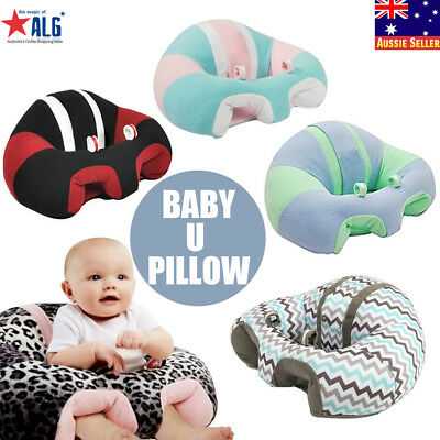 Nursing Pillow UShaped Cuddle Baby Support Seat Infant Safe Dining Chair Cushion