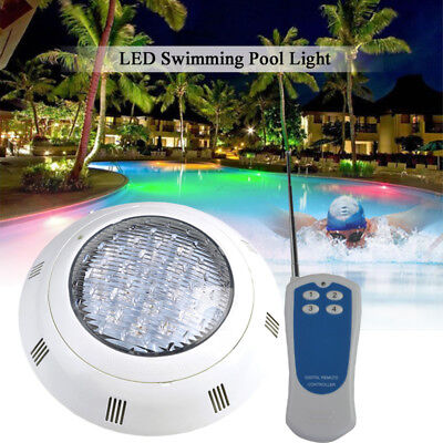 "High Power 18W 36W 54W Wall Mounted Nicheless LED Pool Light D11.73"" * H2.64"""
