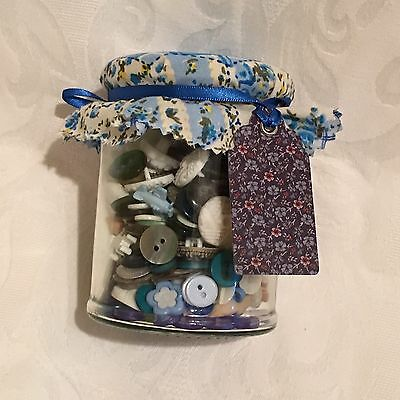 Jar Of Buttons Crafters Gift