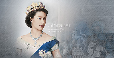 """Gibraltar - 2016 """"Accession 65th Anniversary"""" Presentation Pack"""