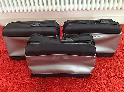 BMW motorbike accessories - 3 Inner Bags Vario Pannier Liners, Left Right Top