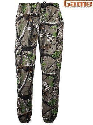 Game Trek Camouflage Joggers / Camo Jogging Bottoms, New In! Hunting & Fishing