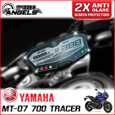 2 x Cluster Scratch Protection Film Screen Protector: YAMAHA MT-07 700 TRACER AG