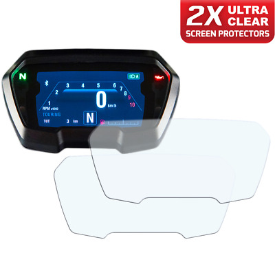 2 x DUCATI XDIAVEL inc.S Instrument / Dashboard / Speedo Screen Protector UC