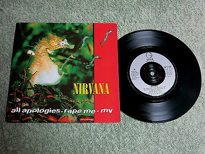 NIRVANA all apologises GEFFEN 7-inch GFS 66!