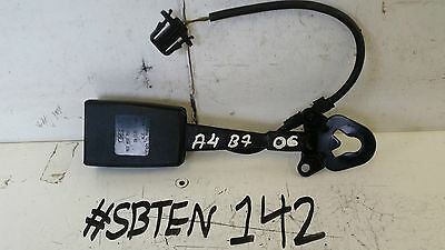 Audi A4 Seat Exeos/st O/s/f Driver Side Front Seat Belt Buckle Latch 8E0857755G