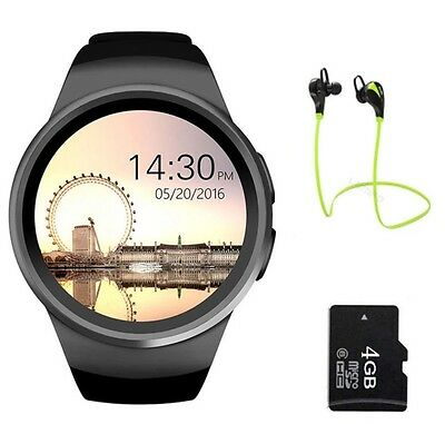 Smart Watch Tipo Samsung Gear S2 Android Sd Card Earphones Cuffie 4GB