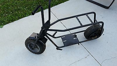 BUILD THIS  Mini Bike FRAME-Vintage Plans DIY I made this in my garage