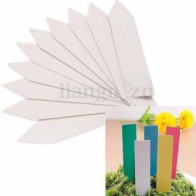 100pcs Plant Seed Label Pot Marker Nursery Garden Stake Tags Tool Intriguing