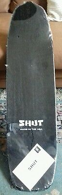 "Shut 2007 Skateboard Deck. Usa. 31.75"" × 8.5"""
